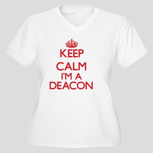 Keep calm I'm Plus Size T-Shirt