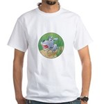 Poindexter Puppy's White T-Shirt
