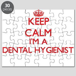 Keep calm I'm a Dental Hygienist Puzzle