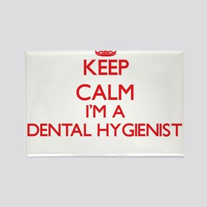 Keep calm I'm a Dental Hygienist Magnets