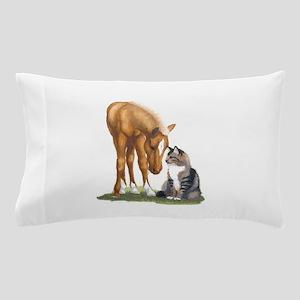 mini sorrel cat Pillow Case