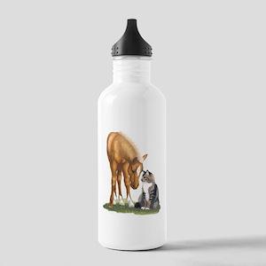 mini sorrel cat Water Bottle
