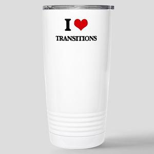 I love Transitions Stainless Steel Travel Mug