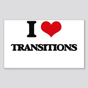 I love Transitions Sticker