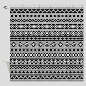 Aztec Essence (ii) Ptn Bwg Shower Curtain