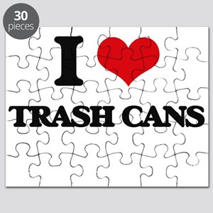 I love Trash Cans Puzzle