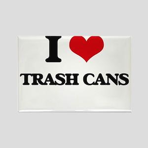 I love Trash Cans Magnets