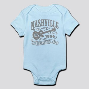 Nashville baby clothes accessories cafepress nashville tennessee body suit negle Images