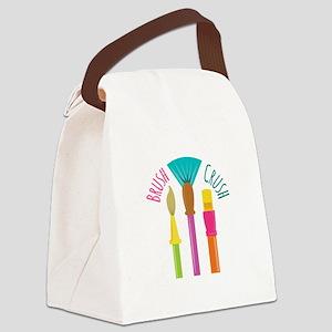 Brush Crush Canvas Lunch Bag