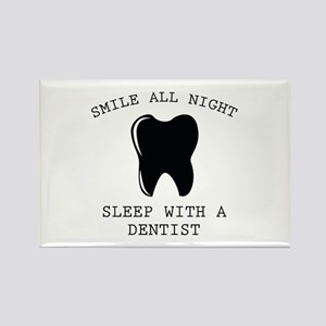 Smile All Night Rectangle Magnet