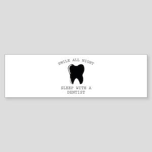 Smile All Night Sticker (Bumper)