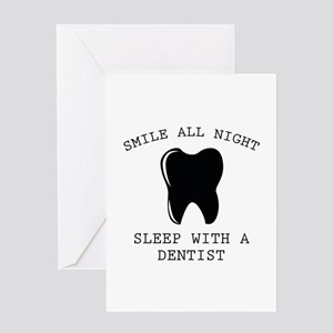 Smile All Night Greeting Card