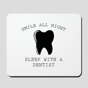 Smile All Night Mousepad