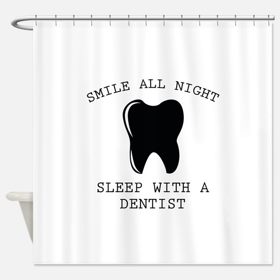 Smile All Night Shower Curtain