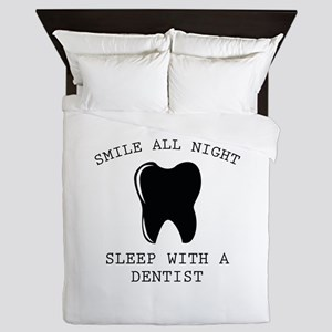 Smile All Night Queen Duvet