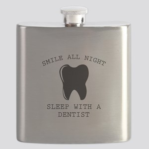 Smile All Night Flask