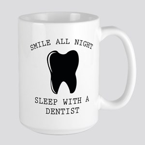 Smile All Night Large Mug