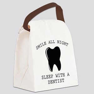 Smile All Night Canvas Lunch Bag
