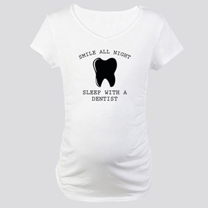 Smile All Night Maternity T-Shirt