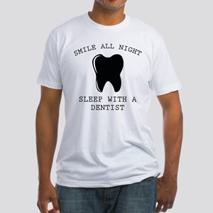 Smile All Night Fitted T-Shirt