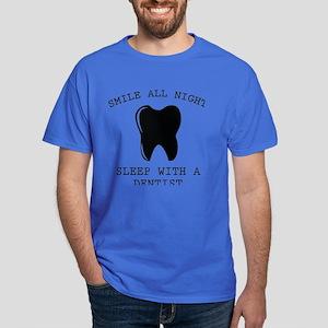 Smile All Night Dark T-Shirt