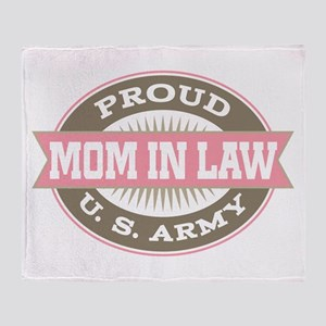 U.S. Army Mother In Law Throw Blanket