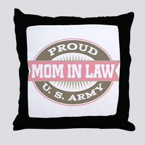 U.S. Army Mother In Law Throw Pillow
