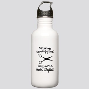Wake Up Looking Good Stainless Water Bottle 1.0L