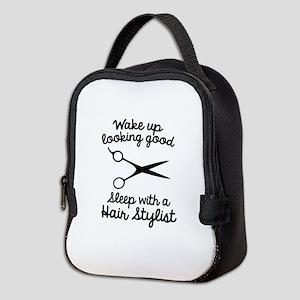Wake Up Looking Good Neoprene Lunch Bag