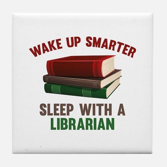 Wake Up Smarter Sleep With A Librarian Tile Coaste