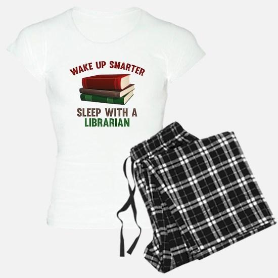 Wake Up Smarter Sleep With A Librarian Pajamas
