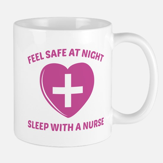 Feel Safe At Night Mug