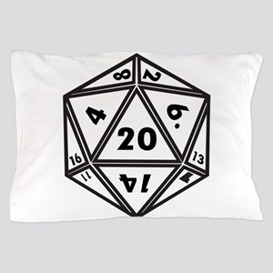 d20 Pillow Case