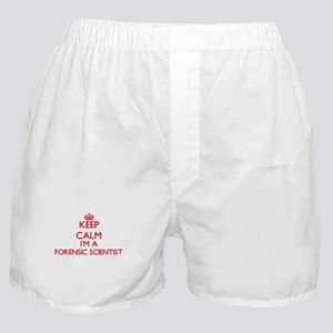 Keep calm I'm a Forensic Scientist Boxer Shorts