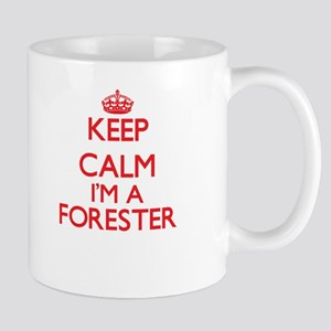 Keep calm I'm a Forester Mugs