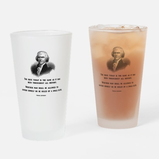 Cute Impeach obama Drinking Glass