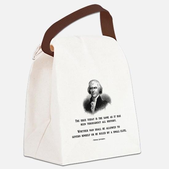 Cute Impeach obama Canvas Lunch Bag