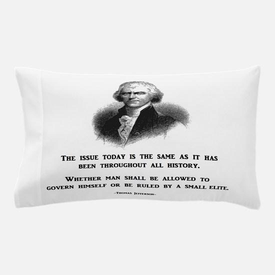 Cute Impeach tea party protest obama Pillow Case