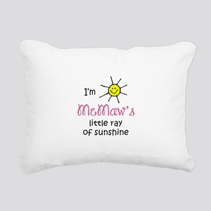 MEMAWS SUNSHINE Rectangular Canvas Pillow