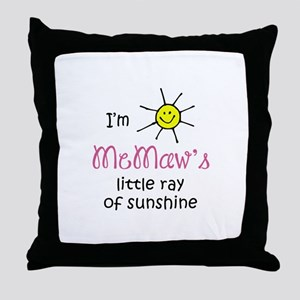 MEMAWS SUNSHINE Throw Pillow