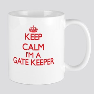 Keep calm I'm a Gate Keeper Mugs
