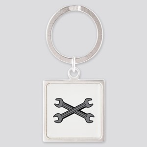 CROSSED WRENCHES Keychains