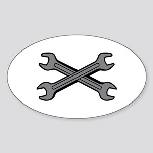 CROSSED WRENCHES Sticker