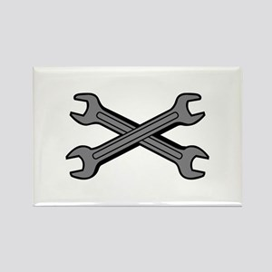 CROSSED WRENCHES Magnets