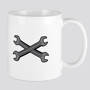 CROSSED WRENCHES Mugs