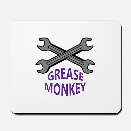 GREASE MONKEY Mousepad