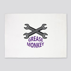 GREASE MONKEY 5'x7'Area Rug