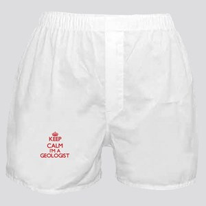 Keep calm I'm a Geologist Boxer Shorts