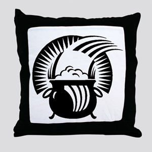 Pot Of Gold Throw Pillow