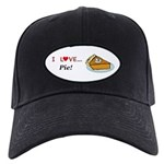 I Love Pie Black Cap